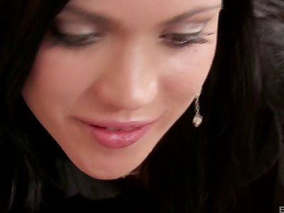Attractive Alyssa Reece having sex with selection pretty chick