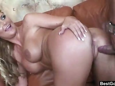Anal with big ass blonde MILF - Gaffer Phoenix Marie showing body and skillz 13min 720p