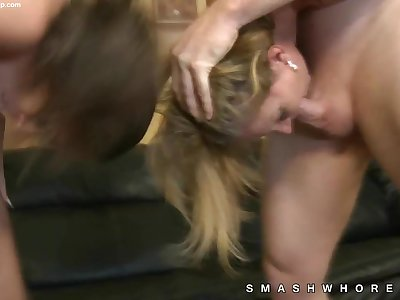 Real crazy mom daughter rough sex scene
