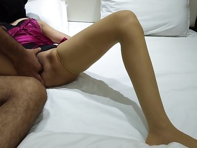 footjob of hot indian sexy couple mohini madhav hindi audio