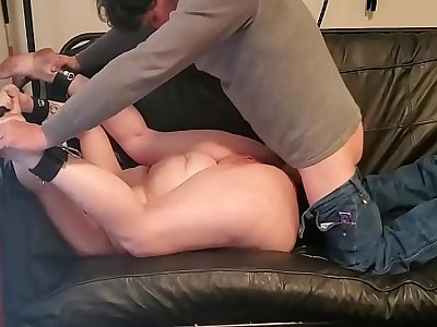 Mom Forced Fucked Round Her Ass - Son Obligated to Watch