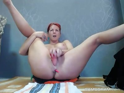 throw a spanner into the works hotness big breasted mom plays give her twat and squirts hard