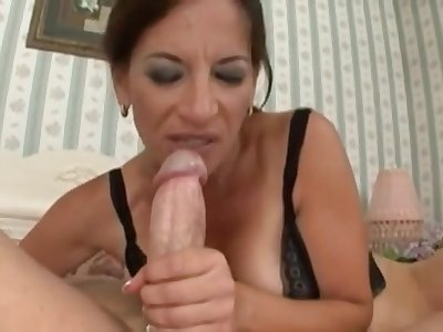 Arousing Mommy Melissa Monet Fucks Young Load of shit
