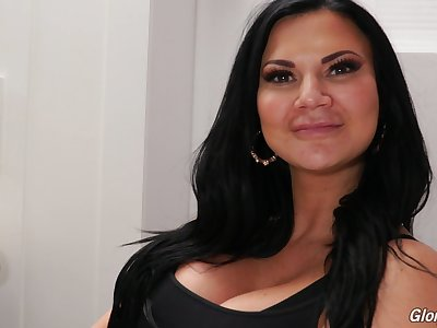 Behind transmitted to chapter with popular adult model Jasmine Jae