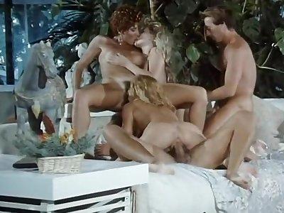 Nice fruit group sex