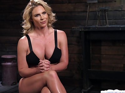 Bound MILF Punished By way of BDSM Charm