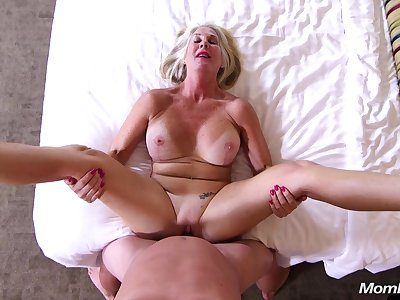 Be passed on Last Callgirl - Blond Hair Lady big tits mature POV