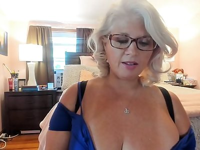 Curvy MILF Rosie: Arduous In excess of Sexy Heels and Blinking w/ Glasses In excess of